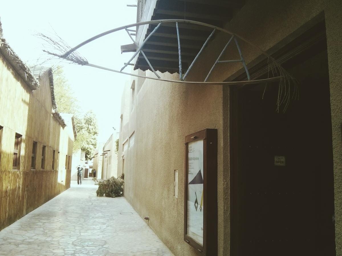 Al bastakiya xva art hotel dubai une petite fille for Xva art hotel